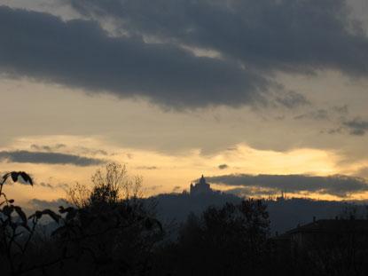 Bologna all'alba