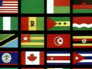 bandiere di tutto il mondo