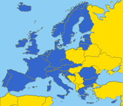 road map europa
