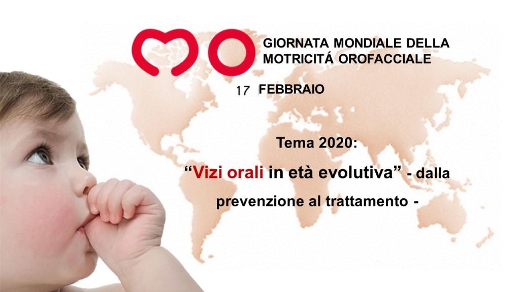 Giornata Mondiale Motricità Orofacciale 2020