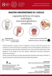 Volantino Master Padova
